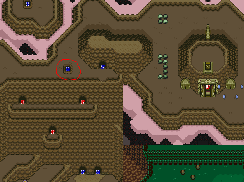 Hookshot Cave - A Link to the Past Randomizer Guide